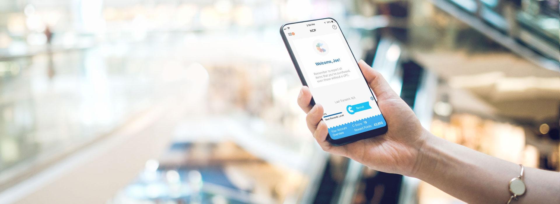 National Consumer Panel shopping app